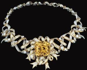 Diamante-collar