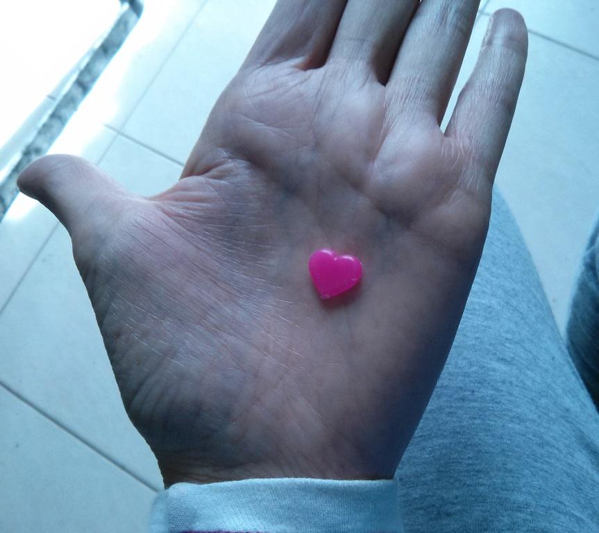 limpiando corazon en la mano