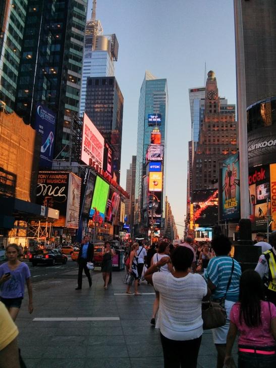 Amazing life in New York