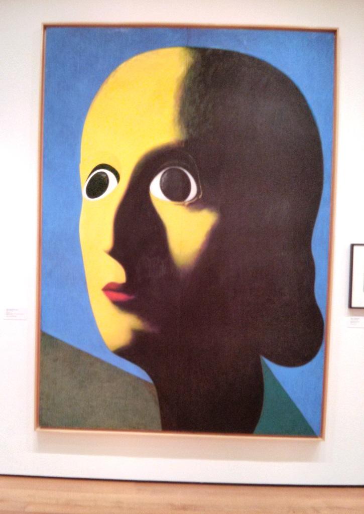 Hasta ver esta impactante pintura llamada: No! de Gino de Dominicis en el MoMa de Nueva York