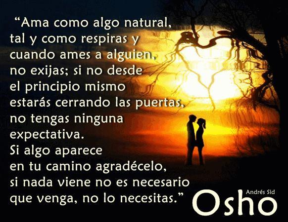 amar como algo natural
