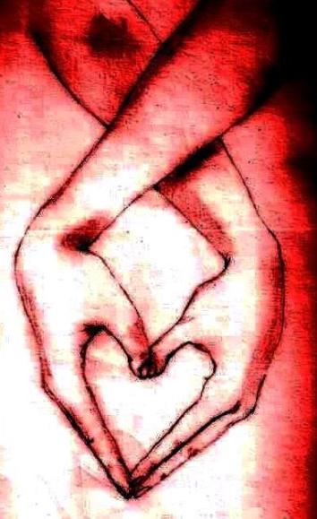 corazon manos